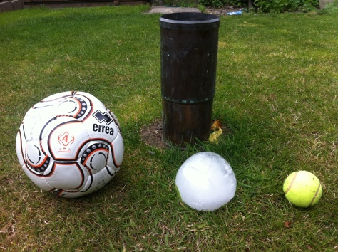 It is thought the size of the 1808 hailstone may, along with a storm in 1697, be the national record for hailstone size - being 20mm greater in diameter than those measured in a Horsham, Surrey, storm in 1958