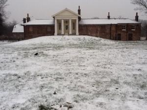 temple snow