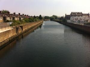 The River Lea close to where Luke Howard's laboratory stood by wanstead_meteo
