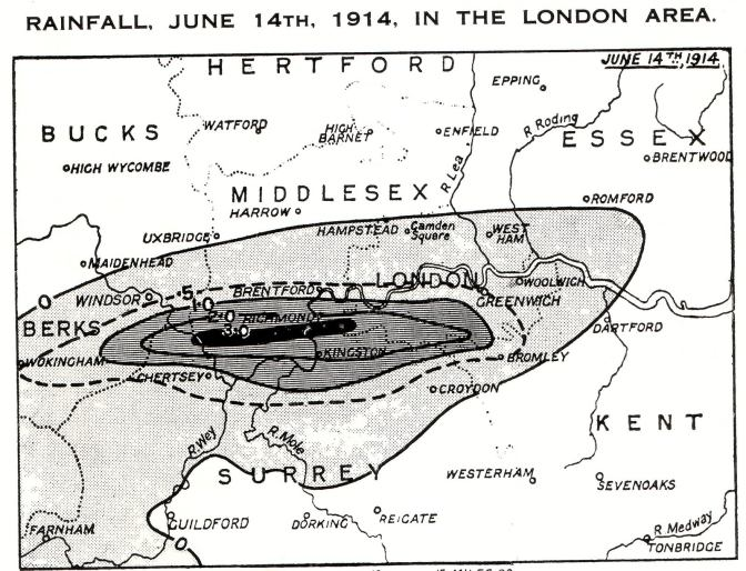 Tragic London storm marked slide into WW1