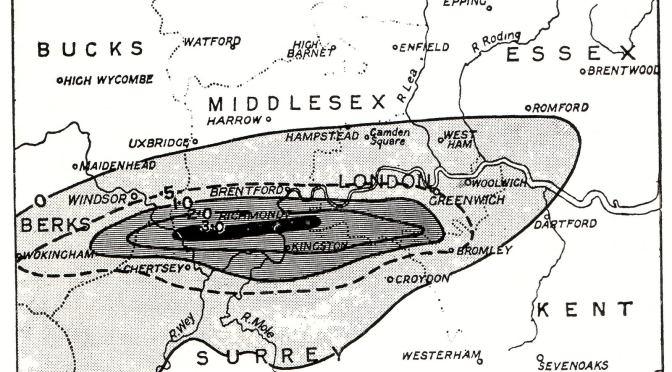 Tragic London storm marked slide into WW1