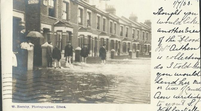 June deluge that created Redbridge-on-Sea