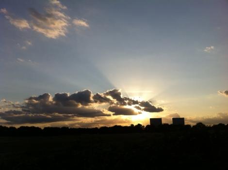 Sunset on Wanstead Flats