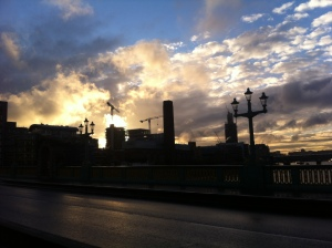 Sunset Southwark Bridge