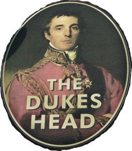 The Dukes Head on Wood Street, Walthamstow, is another reminded of Wellington who was placed 15th in the BBC's 100 Greatest Britons