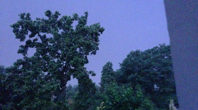 Overnight thunderstorms of July 4th 2015