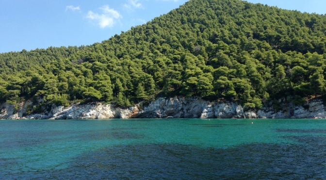 Mamma Mia! Summer storms hit Skiathos