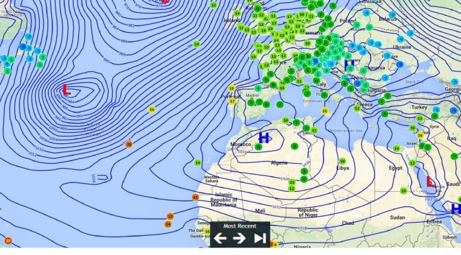 Winter 2015/16: Very mild with average rain