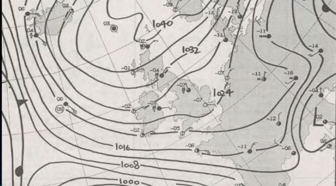 30 years on: the January 1987 cold spell