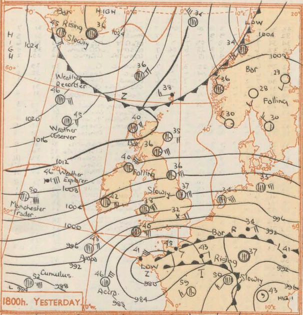The March blizzard of 1952