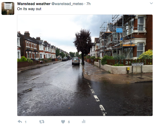 Thunderstorm: June 2, 2017