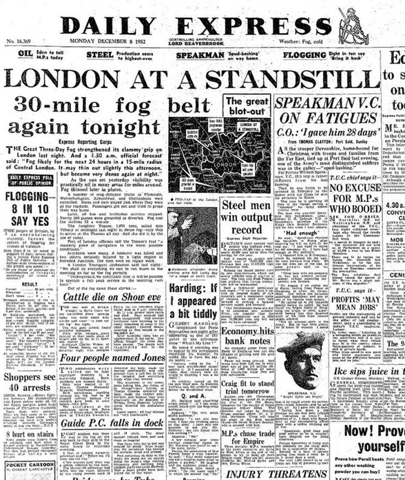 30 mile fog 1952