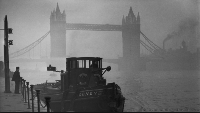 Centuries of London fogs