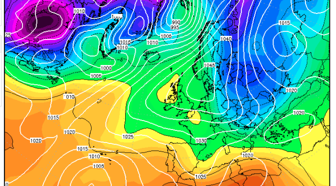 The 'nearly cold spell' of February 2008