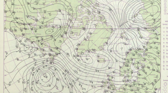 The cold spell of February / March 1962