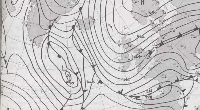 The severe cold spell of February 1991