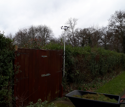 A new weather station for Wanstead