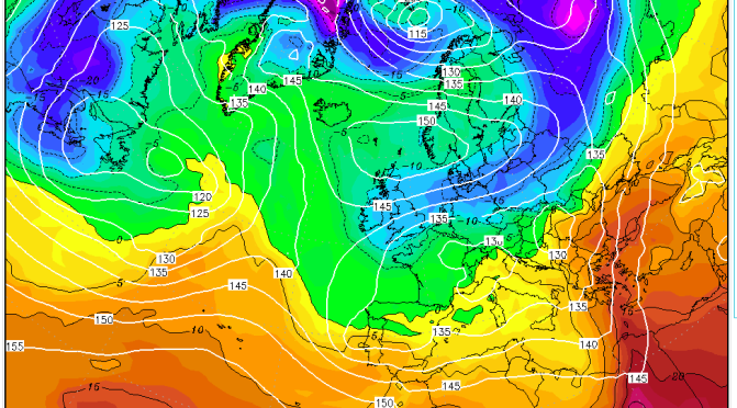 Repeat of March 24th 2013 only 10C colder