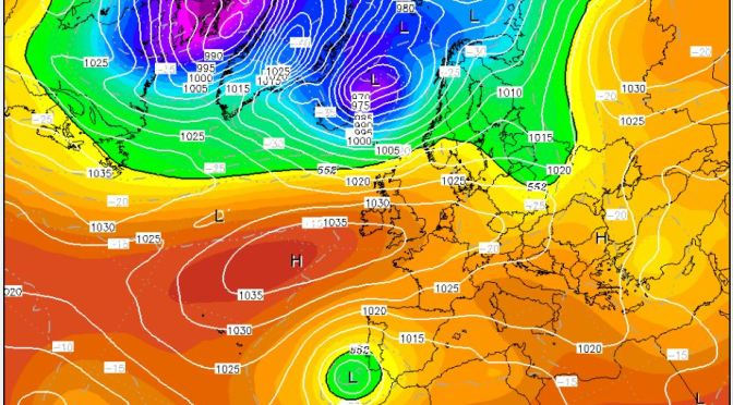 November: an Indian summer before turning cold?