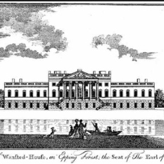 Wanstead House around 1819 just before its destruction