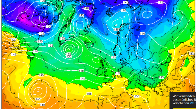 The GFS Scottish Christmas Day blizzard of 2020