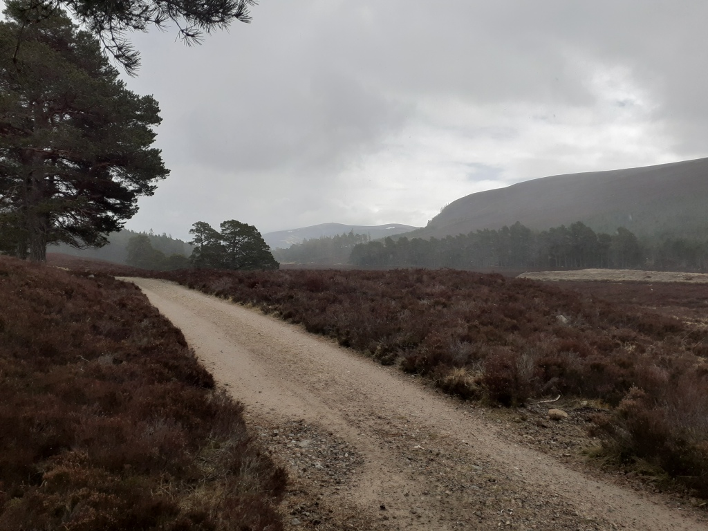 The path from Linn of Dee