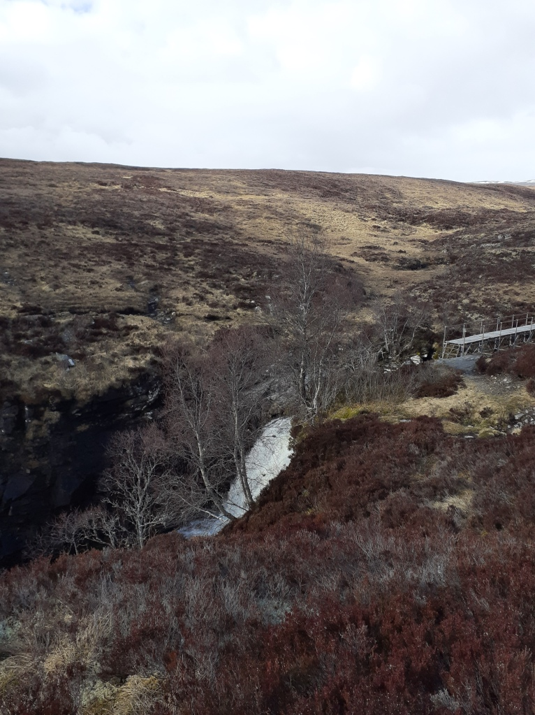 The waterfalls on the River Eidart can be heard long before you see them